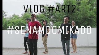 (SENAM DOMIKADO Behind The Scene) Senam Bareng DYCAL SIAHAAN VLOG #ART2