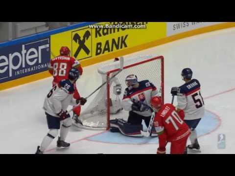 [ 2 - 4 ]   Словакия - Беларусь - Чемпионат мира по хоккею 2016 (видео)
