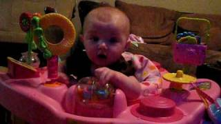 Baby's First Word!  Baby says Mama!!  Amazing! - Lilah