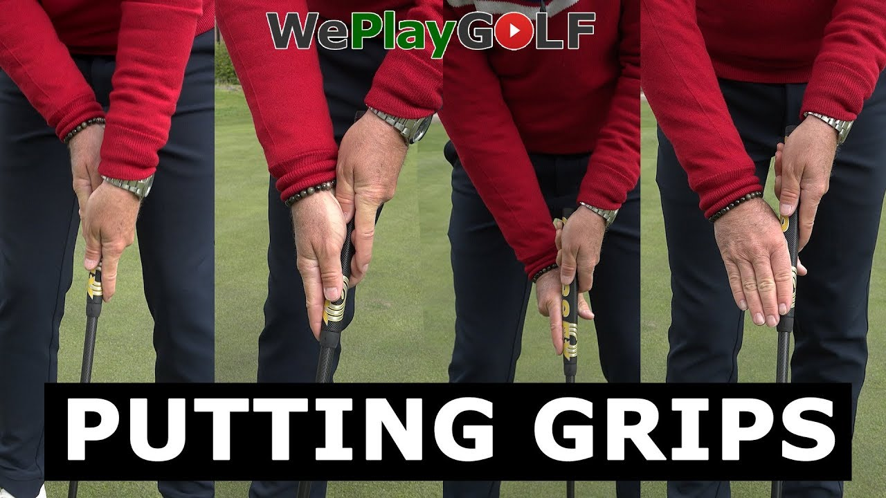 How to grip a putter - 4 different ways
