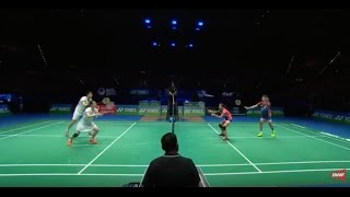 Video Yonex All England Open 2017 | Badminton F M1-XD | Chan/Goh vs Lu/Huang MP3, 3GP, MP4, WEBM, AVI, FLV November 2018