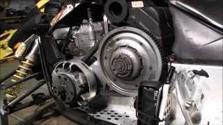 8. Skidoo Rev 800 secondary clutch cleaning Episode 3
