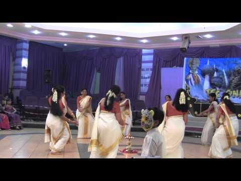 Thrissur Engineering College Onam Celebration Thiruvathira 2013