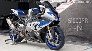9. BMW S1000RR HP4 Competition- Akrapovic Sound & Details Bikers Garage 06