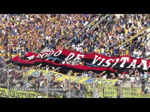 """Video - Desamparados (SJ) - Rosario Central 23.06.2012 - stolen flag present """"40.000 DE VISITANTE"""" - Los Guerreros - Rosario Central - Argentina"""