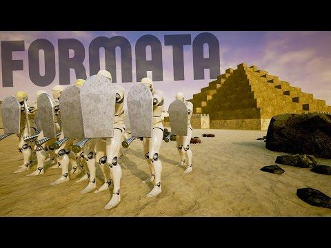Formata - The Great Nile River Battle! - Ships, Pyramids and More! - Formata Gameplay Highlights