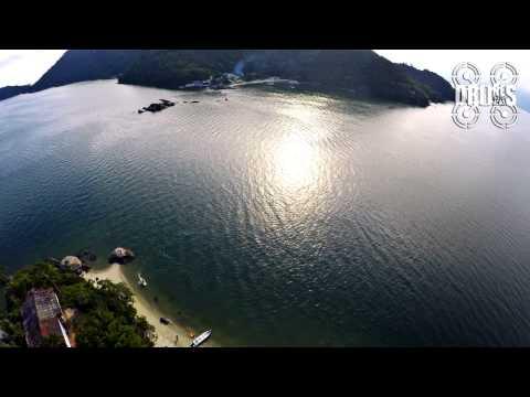 Ilha Bonita Costa verde Itacuruçá RJ - Filmagem aérea