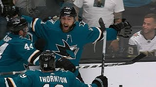 Barclay Goodrow scores OT winner for Sharks in instant classic Game 7 by NHL