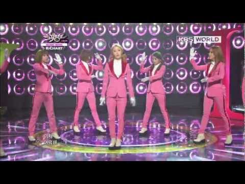 [Music Bank K-Chart] 2nd Week of September & T-ara - Sexy Love (2012.09.14) (видео)
