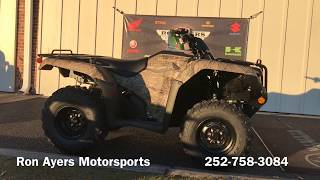 10. 2019 Honda FourTrax Rancher 4x4 DCT EPS