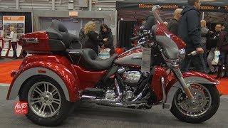 10. 2019 Harley Davidson Tri Glide Ultra - Walkaround - 2019 Quebec Motorcycle Show