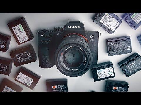 Best Sony A7III Batteries