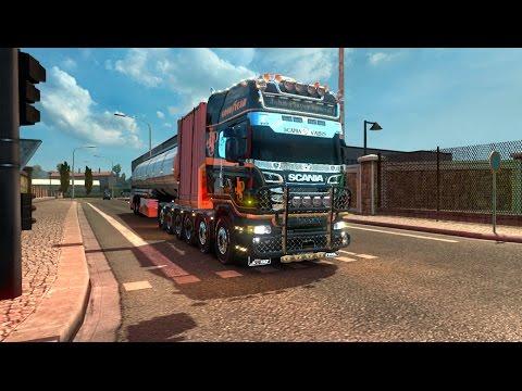Scania R Zeeuwse Trucker 1.27.x fixed v1.0