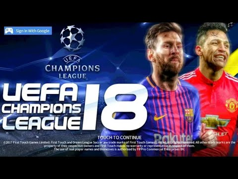 Dream League Soccer 2018 Mod UEFA Champions League | 2018 | Android [300MB] HD Graphics