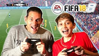 Video Fifa 18 Father Vs Son - Forfeit Challenge MP3, 3GP, MP4, WEBM, AVI, FLV Maret 2018