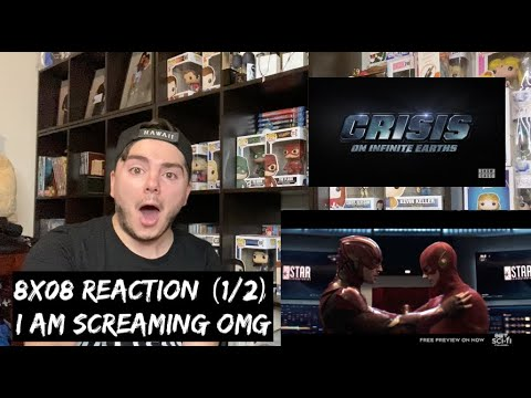 ARROW - 8x08 'CRISIS ON INFINITE EARTHS: PART FOUR' REACTION (1/2)