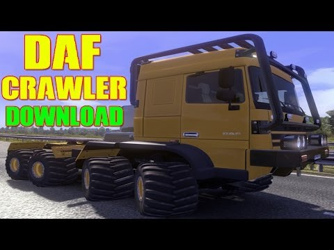 DAF Crawler & High Lift Update  1.14.x