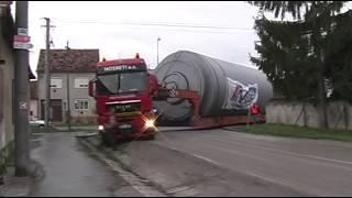 Transport naprawdę wielkich obiektów! Ludzka pomysłowość często zaskakuje!