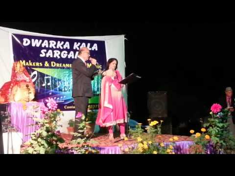CHURA LE NA TUMKO YE MAUSAM SUHANA -RKBhatnagar and Ritu Dogra on 14.2.2016 (видео)