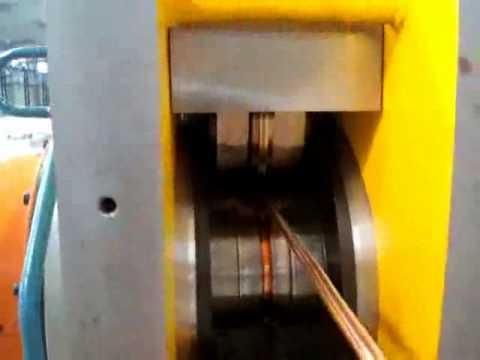 HORMESA CONTINUOUS EXTRUSION MACHINE FOR COPPER STRIP