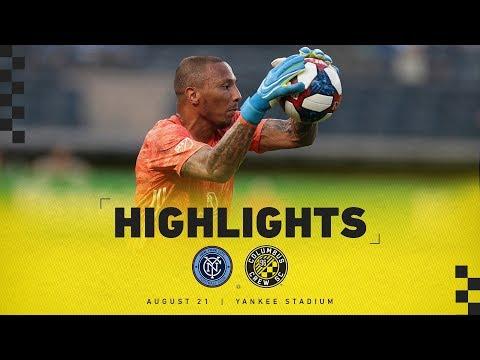 Video: HIGHLIGHTS: Columbus Crew SC at New York City FC - Aug. 21, 2019