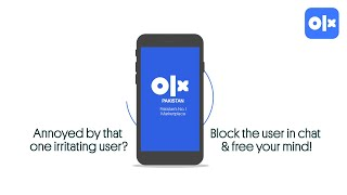 OLX Help: How To Block a User?