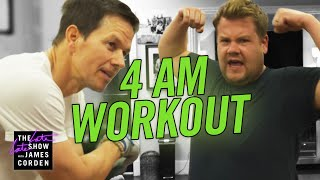 Video James Joins Mark Wahlberg's 4am Workout Club MP3, 3GP, MP4, WEBM, AVI, FLV Januari 2019