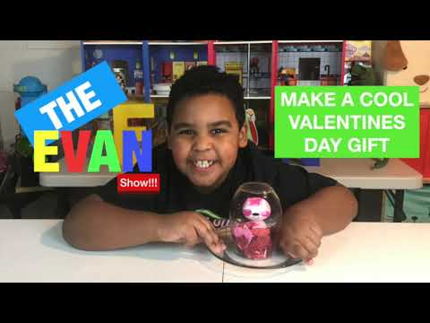 MAKE A COOL VALENTINES DAY GIFT WITH EVERYTHING EVAN!!!!!