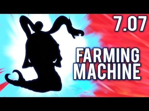 Best Farming Hero of Dota 2 Patch 7.07