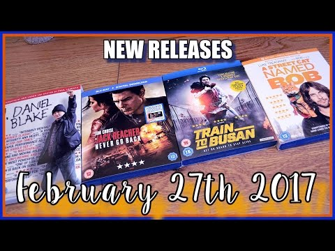 NEW Blu-ray Releases February 27th 2017! | Closer Look