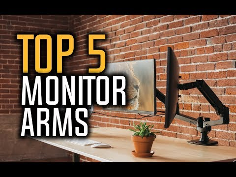Best Monitor Arms in 2018 - Which Is The Best Monitor Mount? (видео)