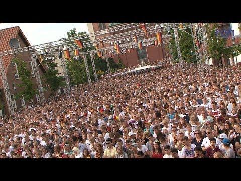 Die  Lohner Fanmeile: der Rixheimer Platz und seine schönsten Momente