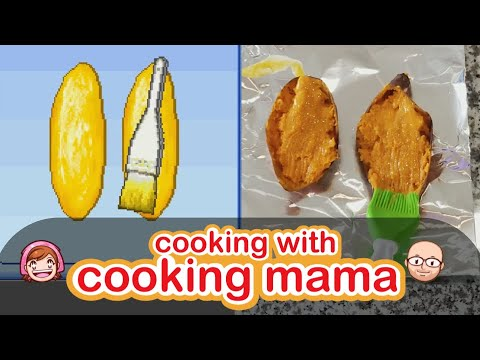 Sweet Potatoes | Cooking With Cooking Mama!