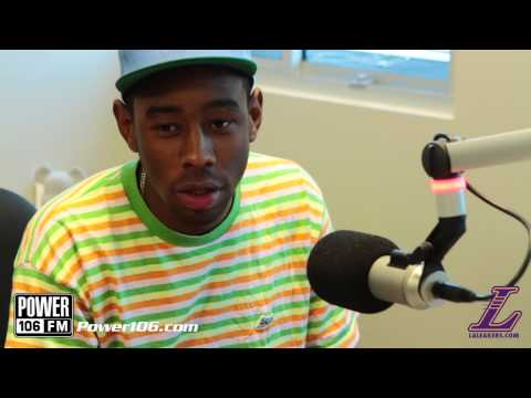 tyler - Tyler, The Creator talks about his Love/Hate relationship with Selena Gomez. For more exclusive interviews visit: Power 106 Website - http://bit.ly/THwnRX Fi...