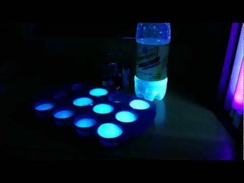 Make Real Glowing Ice Cubes!