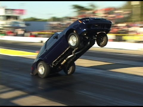 drag - Killer wheelstands from various drag strips across the country.