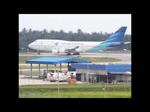 Garuda Indonesia PK GSG Takeoff from Kualanamu International Airport (KNO/WIMM/Medan)