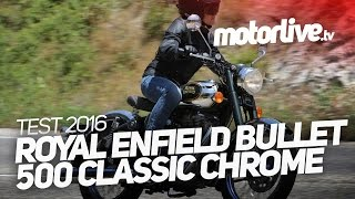 2. ROYAL ENFIELD BULLET 500 CLASSIC CHROME 2016 | TEST