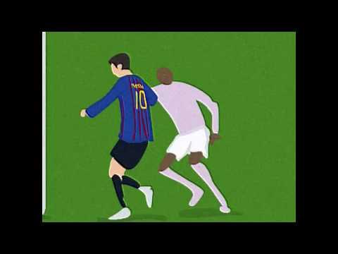 ¡Pura magia! Así fue el primer gol de Messi al Manchester United en el Camp Nou