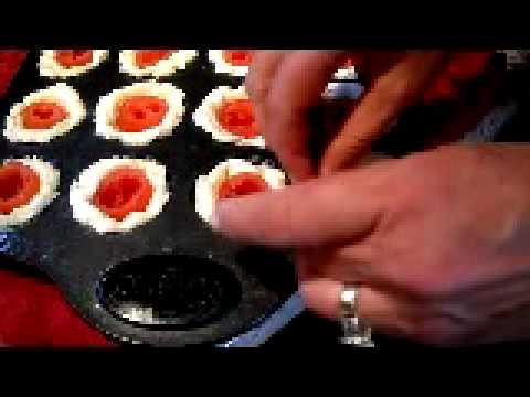 Cream Cheese Stuffed Tomato Tarts