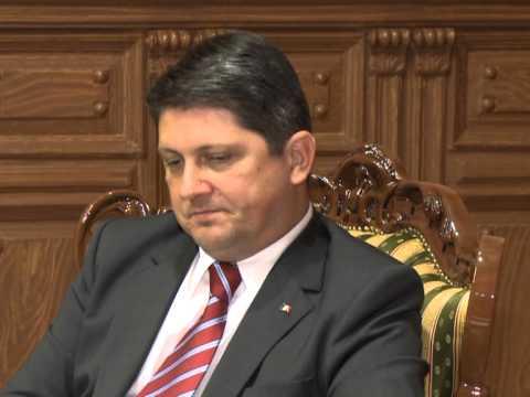 Președintele Nicolae Timofti a avut o întrevedere cu Titus Corlățean, ministrul Afacerilor Externe al României