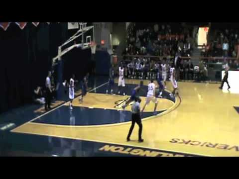 Demond Watt dunk 1-19-11