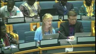 Sascha Gabizon's intervention at the UNEA 3: Marine and Plastic Pollution