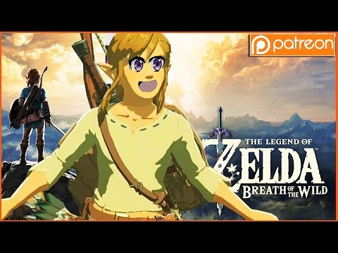 The Legend of Zelda: Breath of the Wild - Patron Game of the Week! (SO INCREDIBLE)