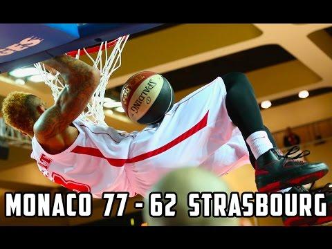 Pro A — Monaco 77   62 Strasbourg — Highlights