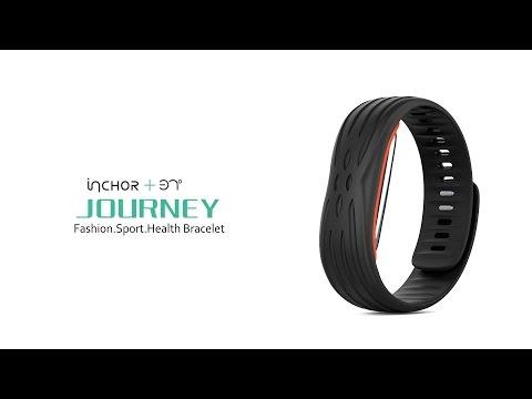 INCHOR 37° Journey Smart Bracelet Fatigue Mood Test Heart Rate Blood Pressure Mileage  Monitor