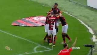 Gols do jogo Flamengo 2 x 0 Cruzeiro - 24ª Rodada Brasileirão 2015 - 10/09/2015.