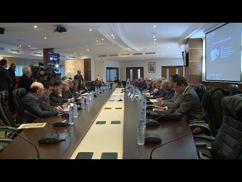 لقاء بمجلس المستشارين حول موضوع مستجدات مشروع قانون المالية