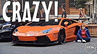 Video Arab LIBERTY WALK Lamborghini Aventador in Monaco! MP3, 3GP, MP4, WEBM, AVI, FLV November 2017