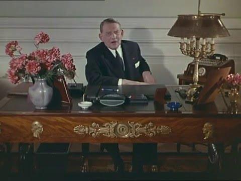 Voeux René Coty 1957